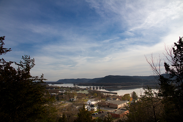 Image of Mississippi River at Trempealeau, Wisconsin