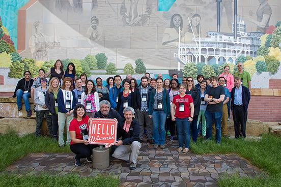 Photo of Wisconsin Idea Seminar participants
