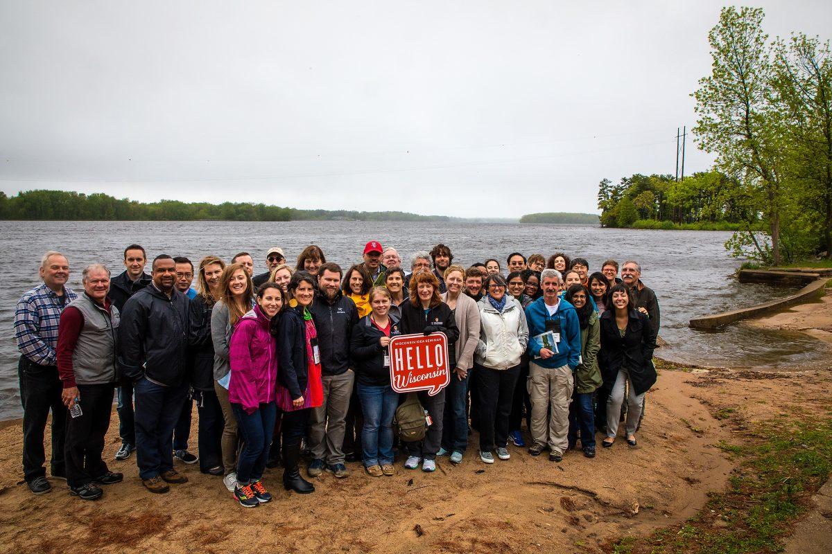 Image of Wisconsin Idea Seminar at Wisconsin River