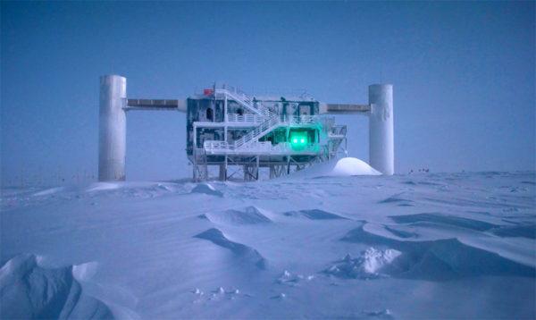 Photo of IceCube Neutrino Observatory