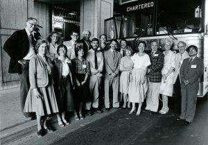 Photo of 1985 Wisconsin Idea Seminar group
