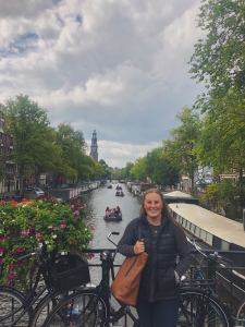 Image of Bethany in Amsterdam