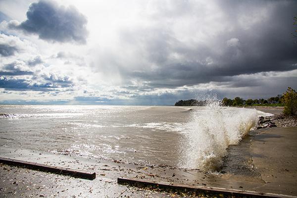 Image of Lake Michigan at Algoma