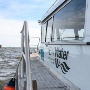One of NEW Water's research vessels. (Image courtesy of Sarah Bartlett/NEW Water)